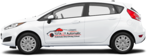 Automatic only driving lessons Car logo